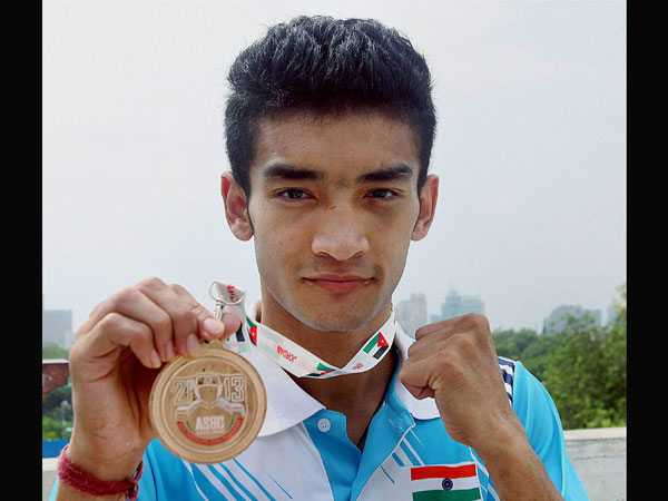 Thapa bagged the gold beating local hope Obada Alkabeh