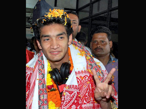 Shiva Thapa on Monday won a gold medal at the Asia Boxing Championship
