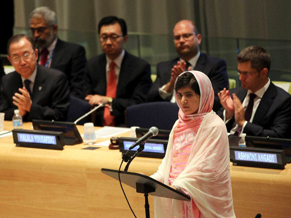 Malala's awe-inspiring speech at UN