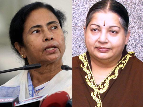 Mamata Banerjee and Jayalalithaa