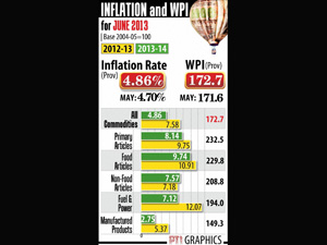 Wholesale price inflation rises to 4.86%
