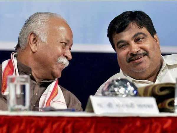 Gadkari meets Bhagwat