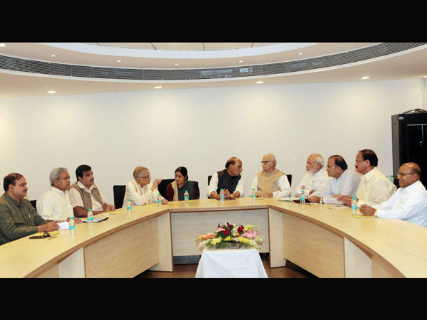 Party's Parliamentary Board Meeting in New Delhi