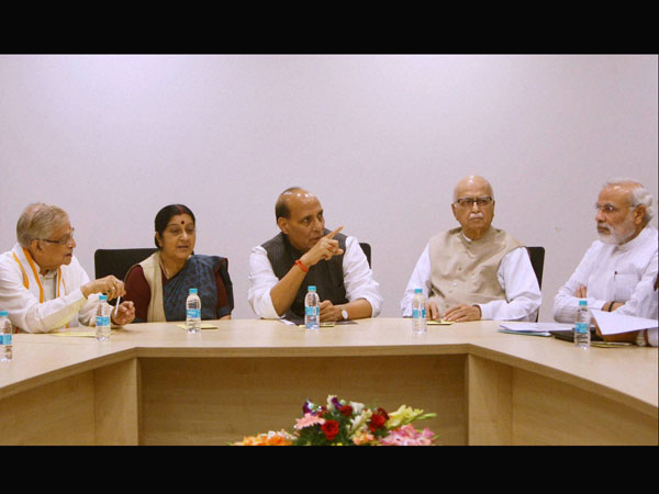 BJP Party's Parliamentary Board Meeting in New Delhi