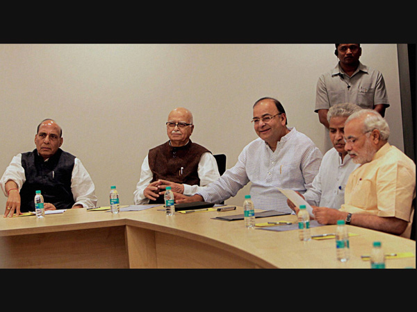 Parliamentary Board Meeting in New Delhi