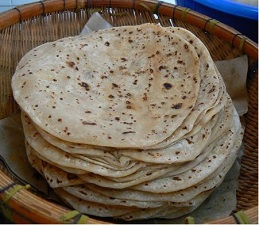 chapattis-in-basket