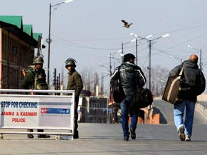 Curfew in Kasmir