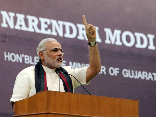 'Modi has not bettered human index'