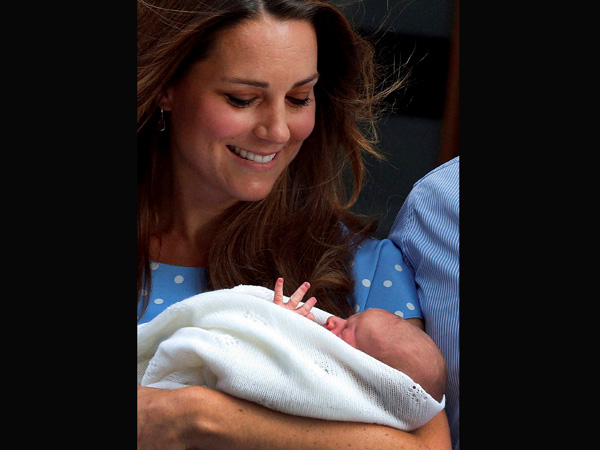 Kate with her son