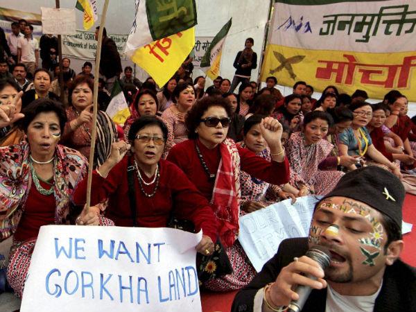 gorkhaland-agitation