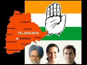 Telangana and Congress leaders