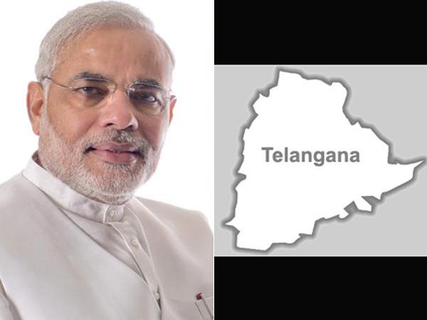 How Modi pushed Cong to settle Telangana