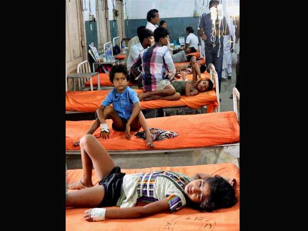 Mid-day meals, water haunt kids in Bihar