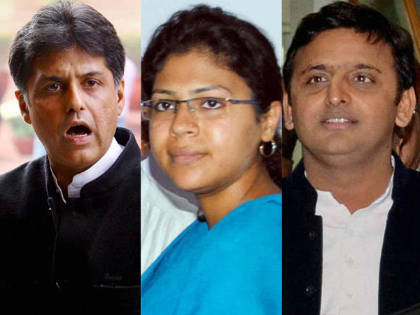Officials like Durga should be saluted, not suspended: Manish Tewari
