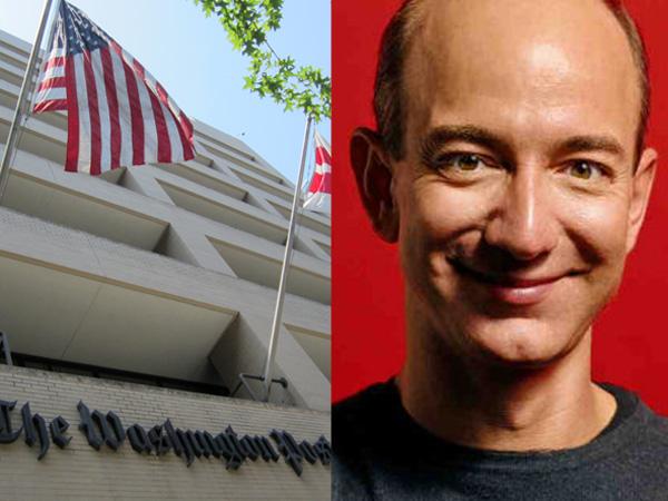 Amazon's Jeff Bezos to buy Washington Post