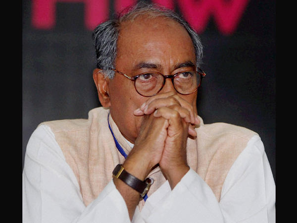 BJP is politicising the issue, Digvijay