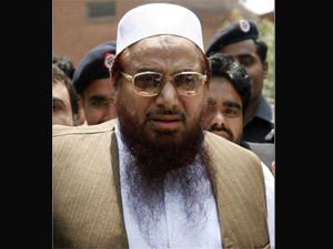Hafiz Saeed leads Eid prayers in Lahore