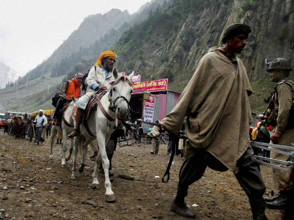 Amaranth yatra suspended from Jammu