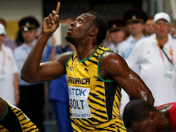 On your marks, get set...and bolt