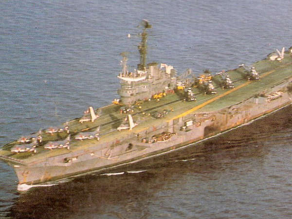 India's former iconic warship, the INS Vikrant(R11)