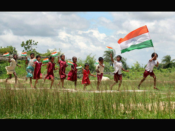 B'lore: Independence Day celebrations