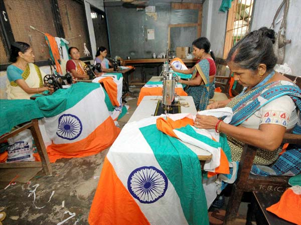 The making of the Indian flag