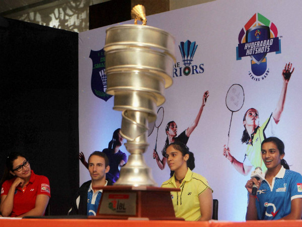 The IBL Trophy is unveiled in the presence of players on August 13 (Tuesday) in New Delhi.
