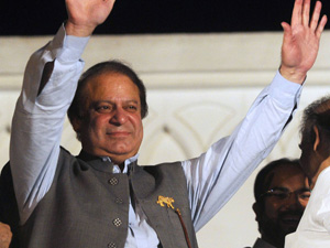 Nawaz Sharif vows to defeat terrorism