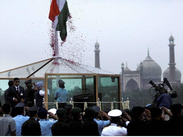 In pics: I-Day celebrations in New Delhi