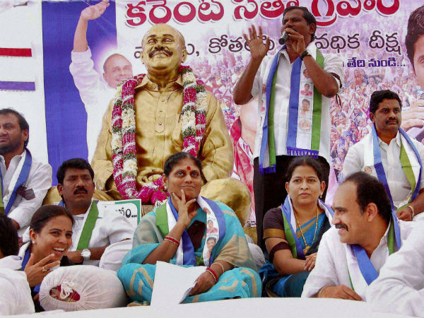 AP: Vijayamma to go on hunger strike