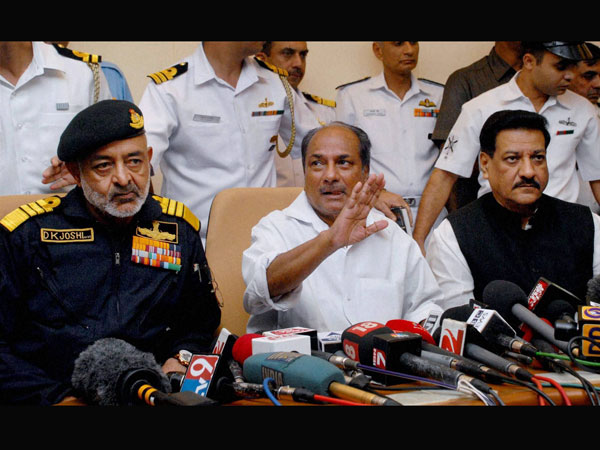 A press conference following the INS Sindhurakshak submarine mishap