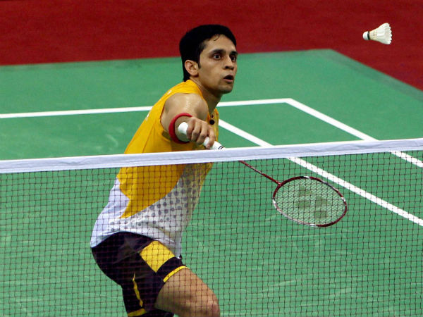 File photo: P Kashyap lost to Rajiv Ouseph
