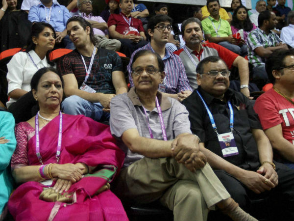 Finance Minister P Chidambaram at IBL