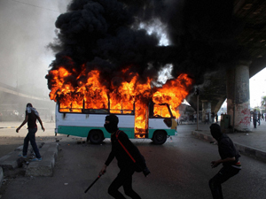Death toll mounts as protest continues
