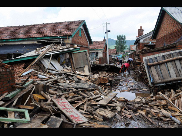40 dead as China witnesses floods