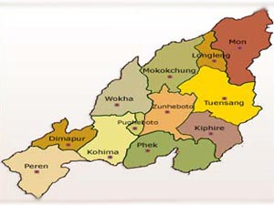 Contractual staff protests in Nagaland