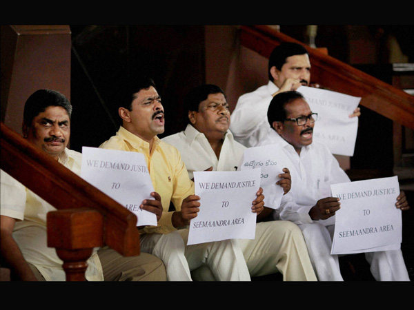 LS adjourned: Telangana, Coalgate row