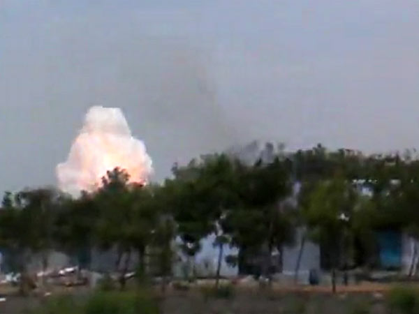 Explosion at cracker factory in Sivakasi