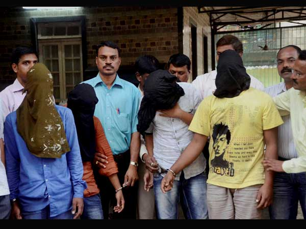 Four of five accused in Mumbai gang rape case