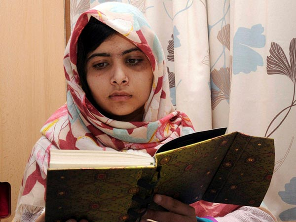 Malala wins Children's peace prize 2013