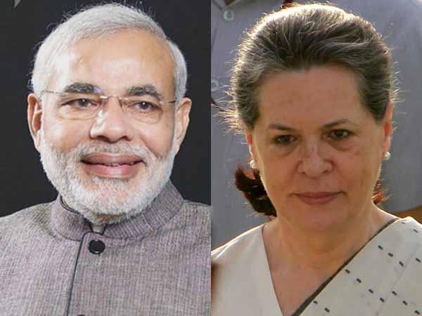 Modi concerned over Sonia's health