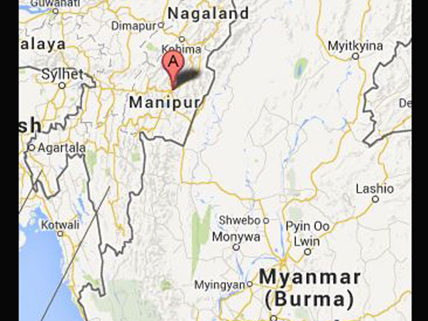 Myanmar Army intrudes into India