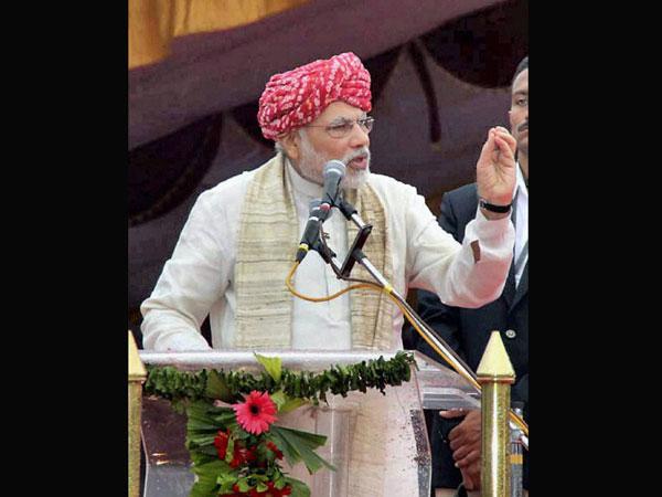 Modi's 'hunkar' is heeded
