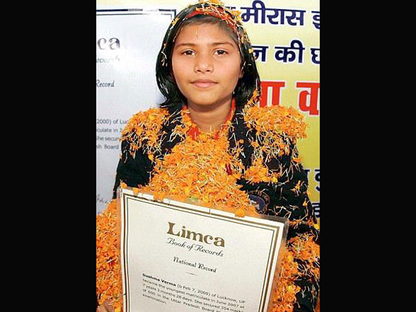 UP: 13-yr-old Sushma to pursue M.Sc.