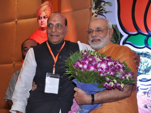 Modi can't be blamed for riots: Rajnath