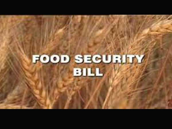"""Food Bill only with eye on poll"""