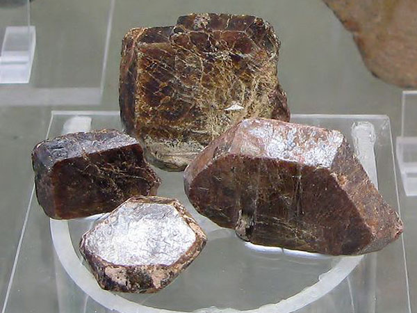 Monazite being illegally shipped