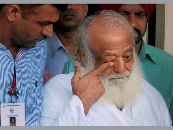Asaram unable to sleep in jail