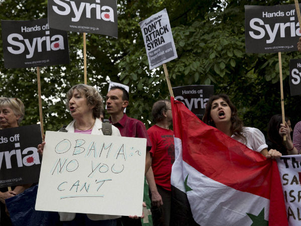 US citizens oppose strike on Syria: Poll