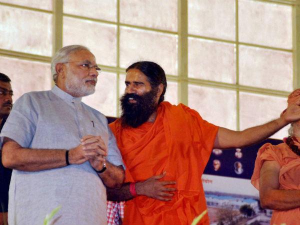 No Modi, no support: Baba Ramdev